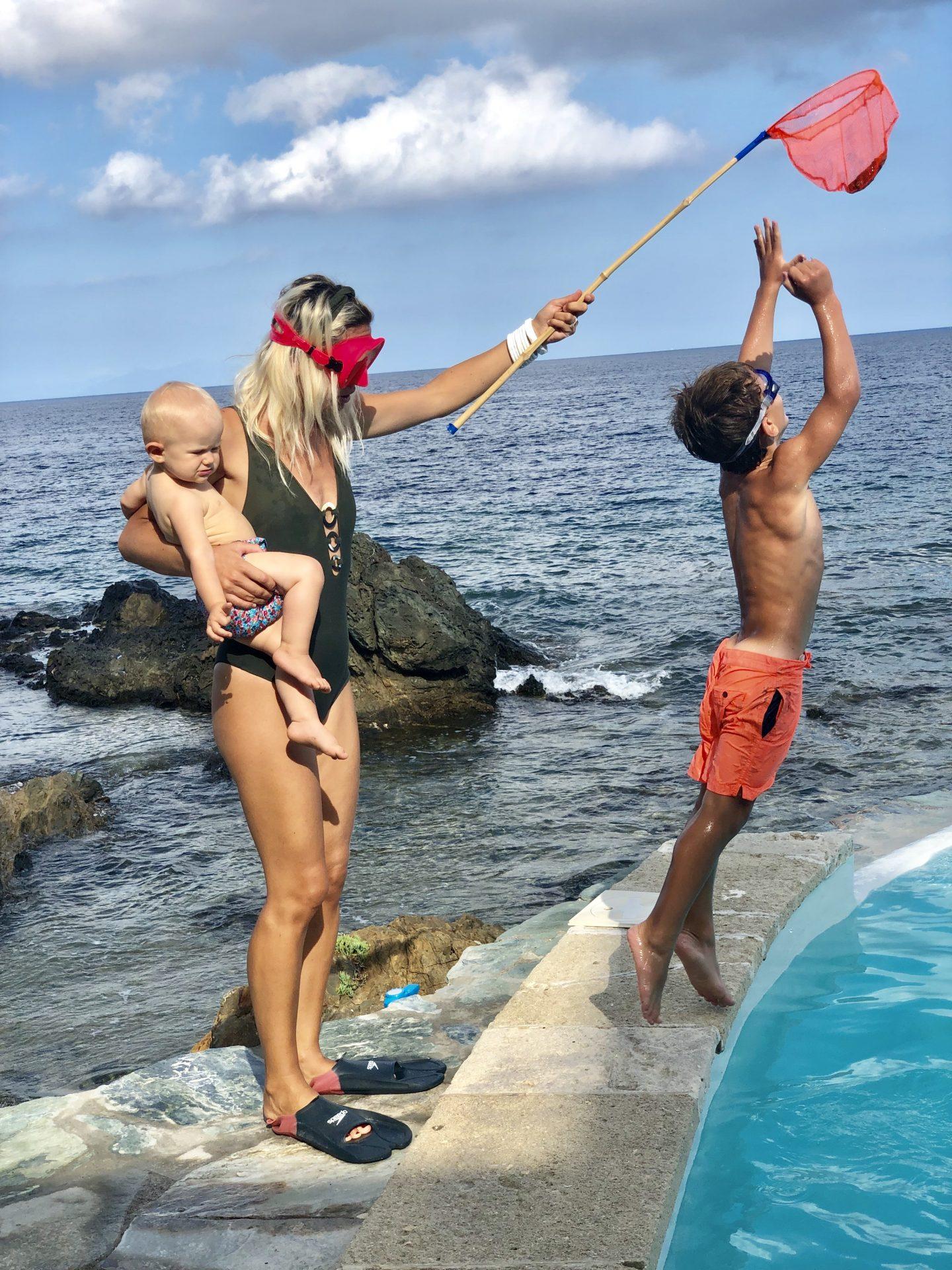 Tu sais que tu es maman à la plage quand..